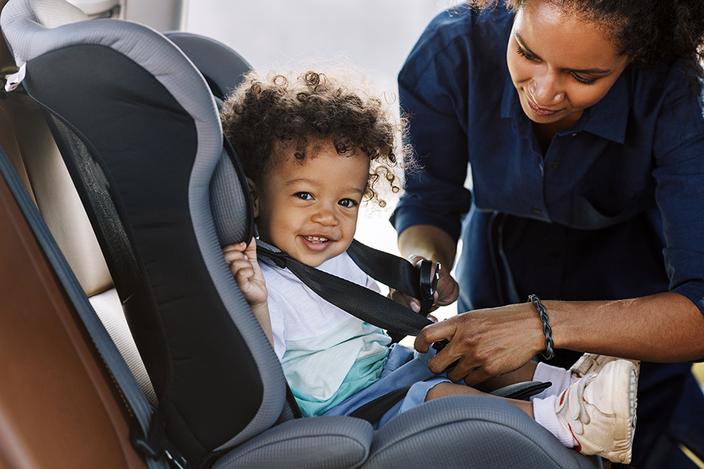 New year, new car-seat rules for babies, preteens