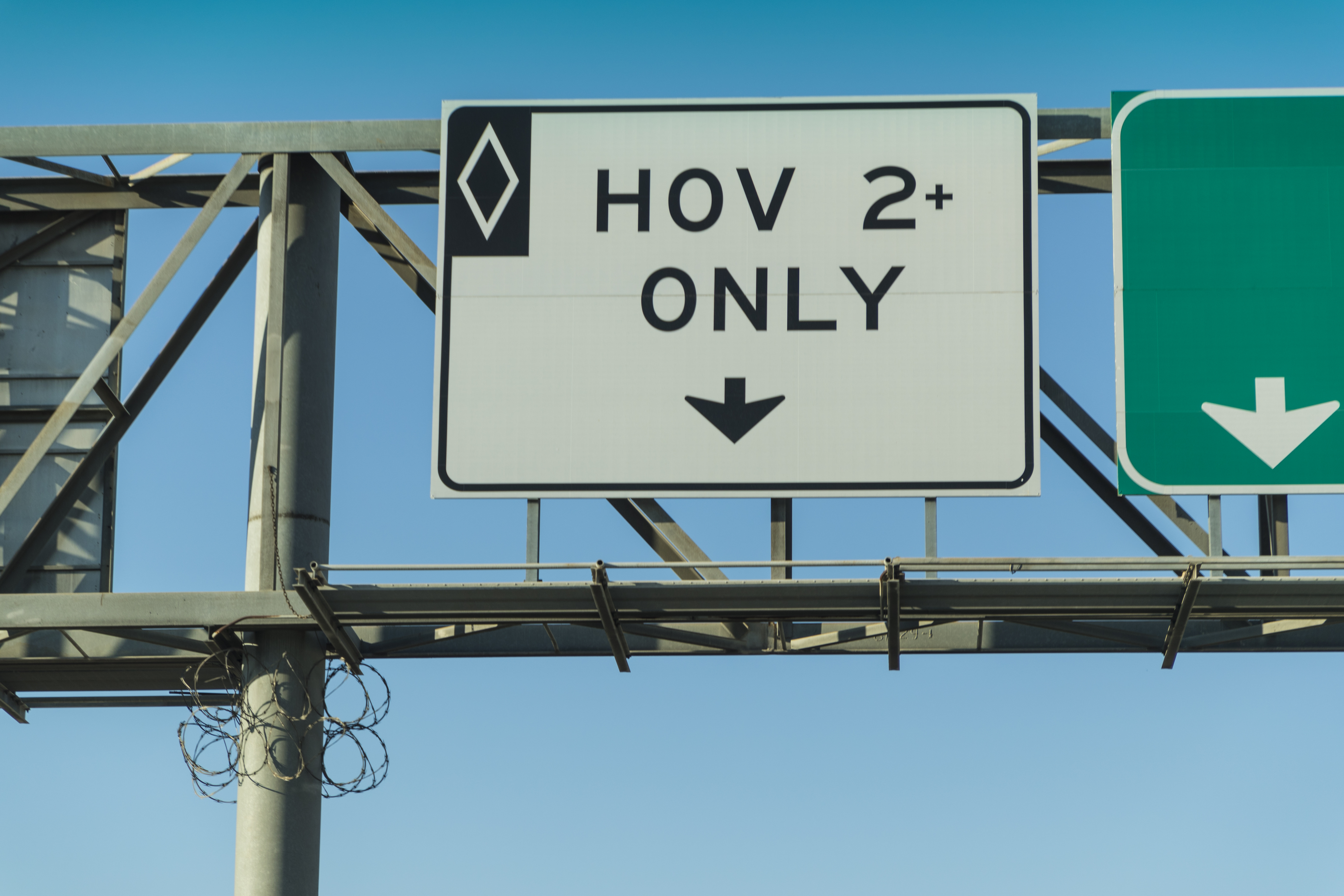 Road Rules 101: Can I use the HOV lane to pass if I'm not in a carpool?