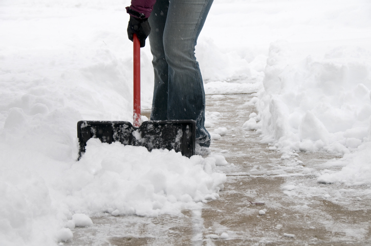 Shoveling snow: Do I have to?